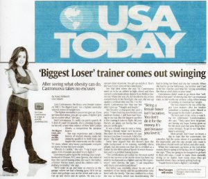 Cara Castronuova in today's USA TODAY - Green Key Management, Seth Greenky